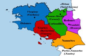 l'Armorique en 300