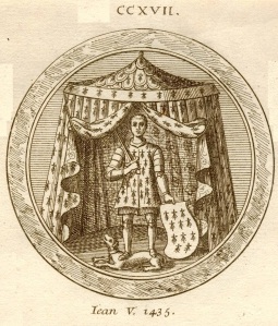 Sceau de Jean V de Bretagne