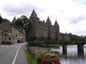 Josselin construit entre 1008 et 1520