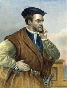 Jacques Cartier le Malouin (1534: premier voyage au Canada)