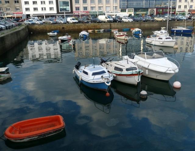 port de pêche de Brest le 10 janvier 2012