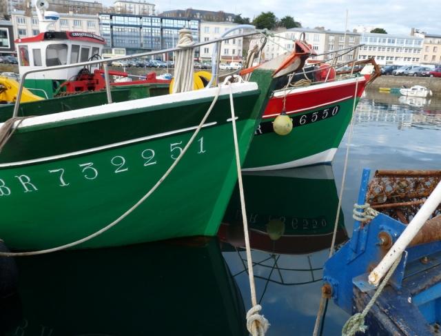 port de pêche à Brest
