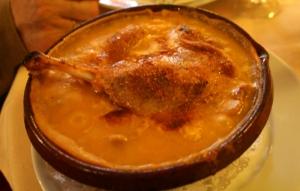 le fameux cassoulet de Carcassonne