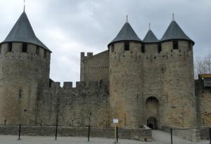 le château de la Cité de Carcassonne