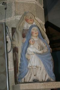 Sainte Anne, Marie et Jésus - Plouay