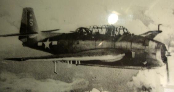 un bombardier américain