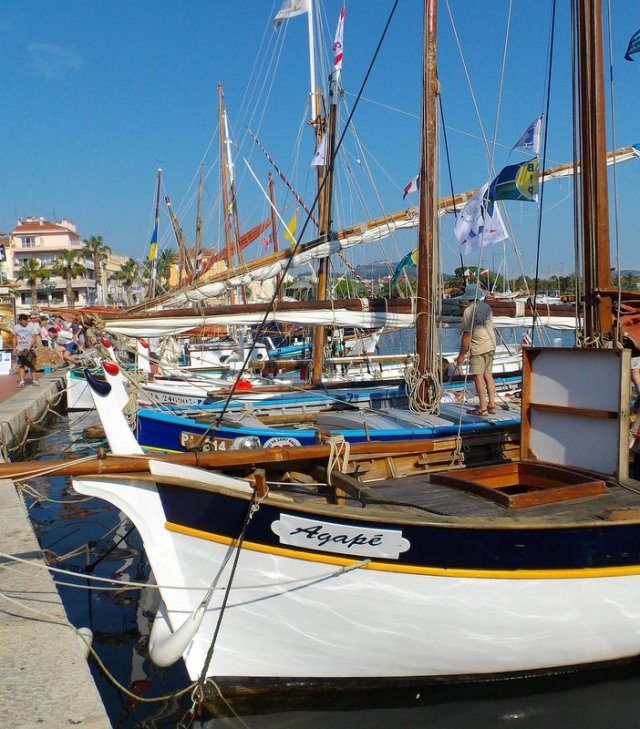 image typique du port de Sanary