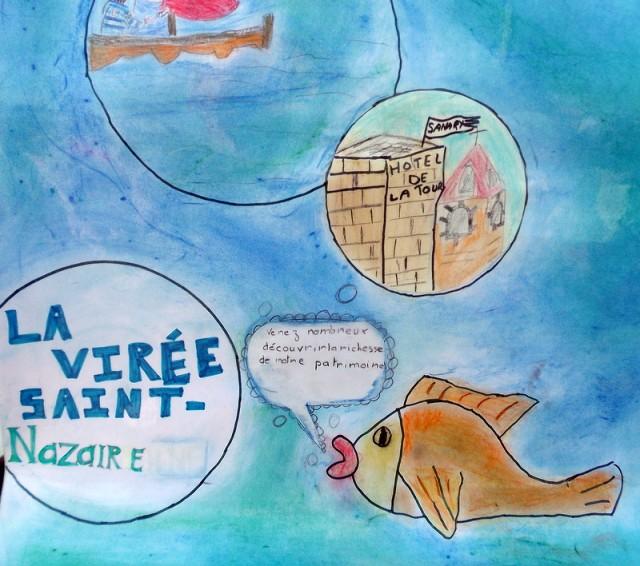 thème de dessins dans les petites classes d'école