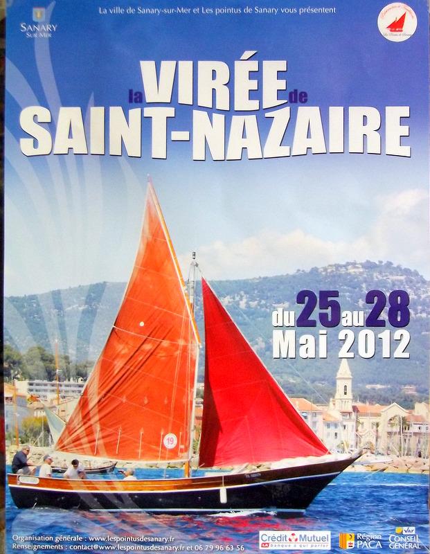 affiche de la virée de Saint-Nazaire