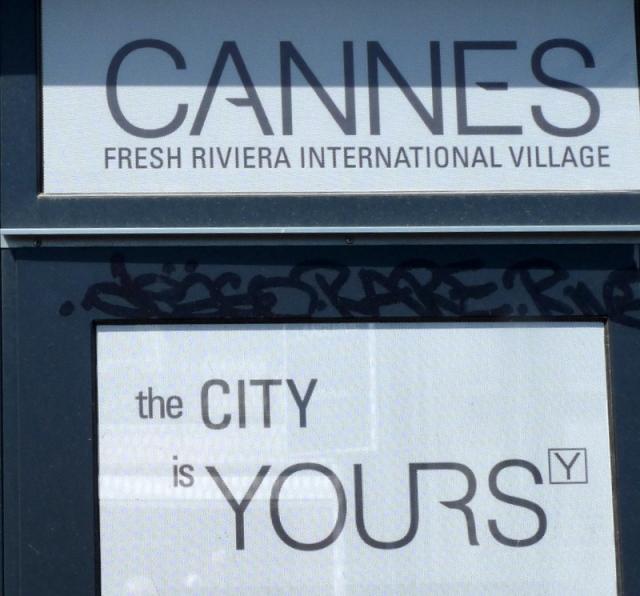 ici c'est Cannes