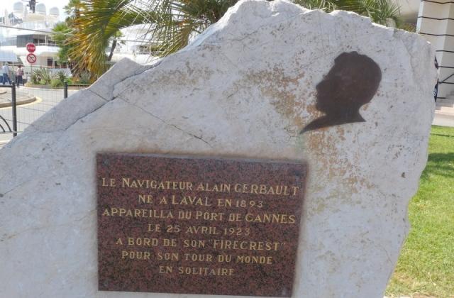 stèle d'Alain GERBAULT