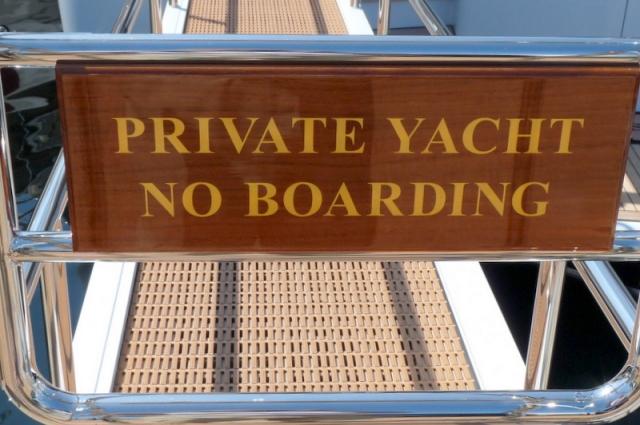 propriété privée, défense de monter à bord