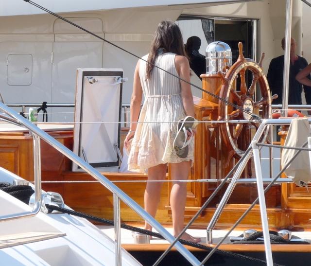 une navigatrice