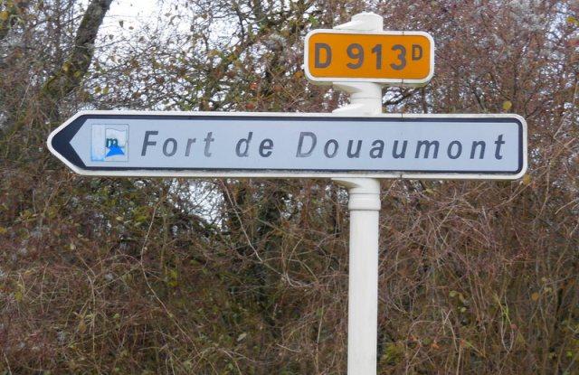vers le fort de Douaumont